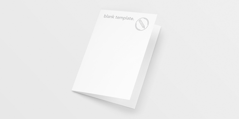 Greeting Cards - Blank Templates
