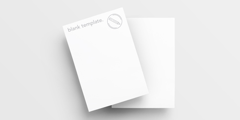 Invitations - Blank Templates