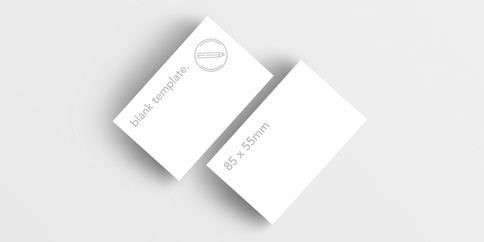 Business Cards - Blank Templates