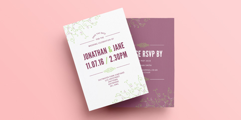Save the Date Cards - A5