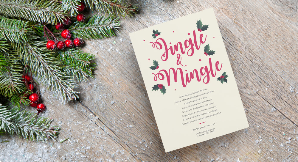 Christmas Invites - A5 & Square