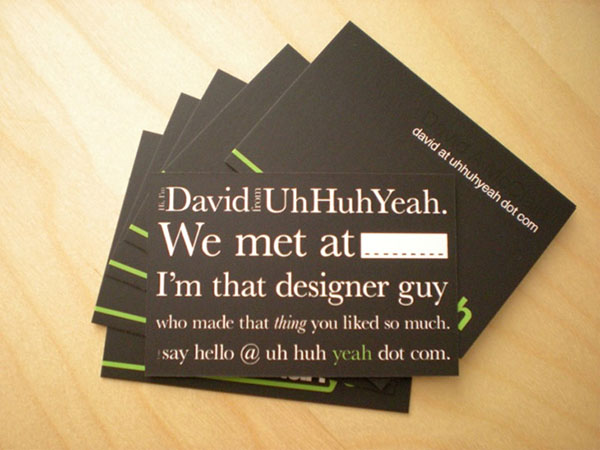 clever business card design ideas the latest print and design news