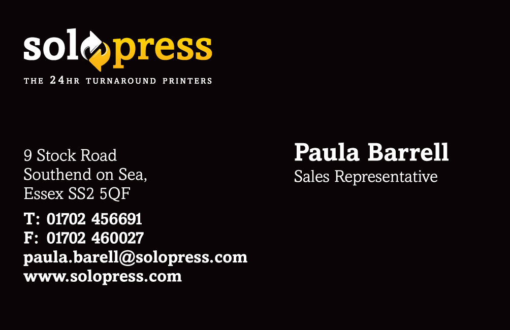 How To Design Your Business Cards Solopress