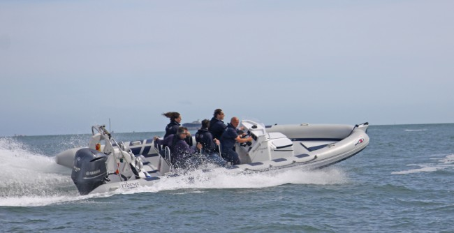 Onboard's powerboat rib charters are the ultimate thrill rides
