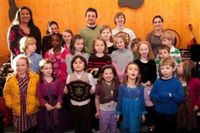 London SE22 Piano School students in Solopress Spotlight printers blog
