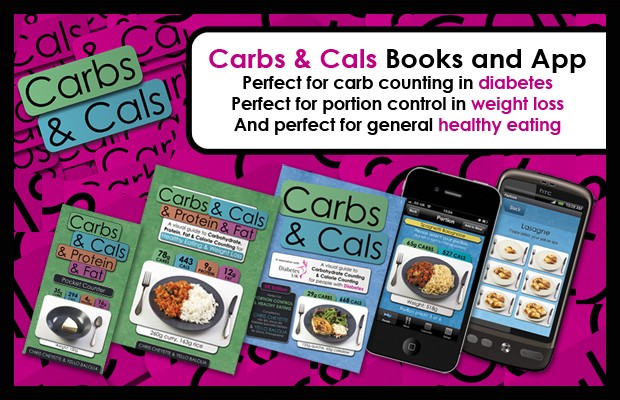 Carbs & Cals books and apps are perfect for weight loss and healthy eating