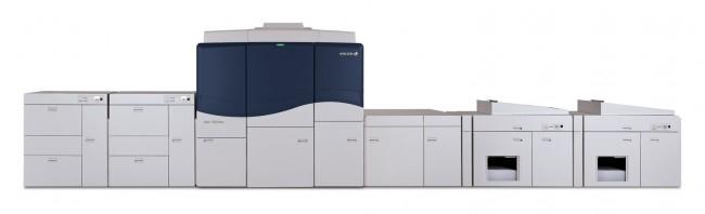 Xerox iGen 150 digital printing press at Drupa 2012