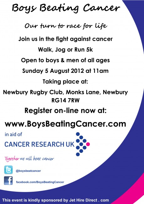 Solopress printed these 130gsm Silk A5 Leaflets for Boys Beating Cancer charity