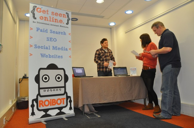 ROiBOT at the Woking Means Business Exhibition