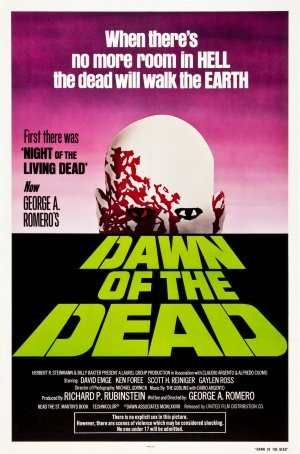 Dawn of the Dead horror movie poster in the Solopress Printing and Design blog