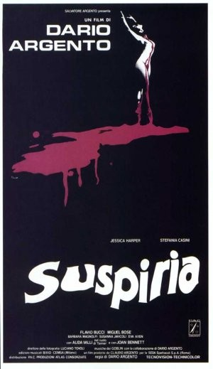 Suspiria horror movie poster in the Solopress Printing and Design blog