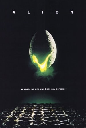 Alien horror movie poster in Solopress Printing and Design blog