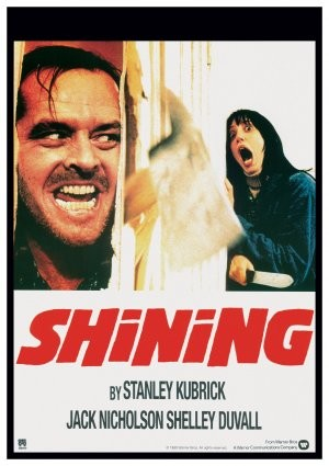 The Shining horror movie poster in the Solopress Printing and Design blog