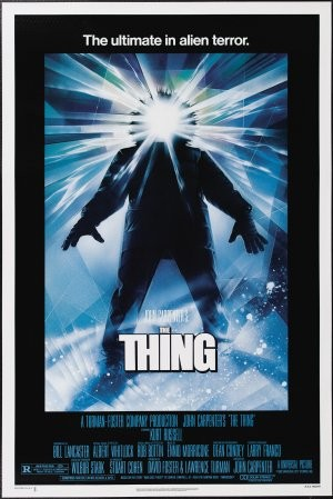 The Thing horror movie poster in Solopress Printing and Design blog