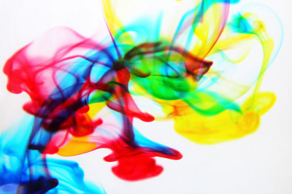 CMYK Pigment Inks in Water
