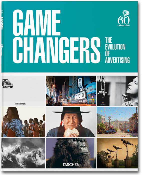Game Changers advertising book and exhibition