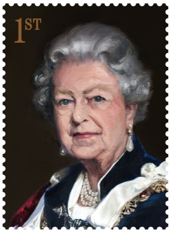 Queen Elizabeth II Royal Mail stamp