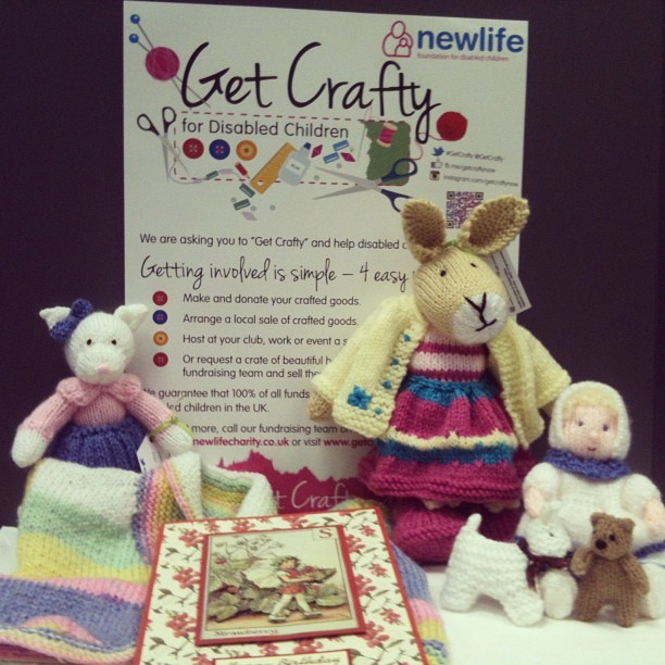 Handmade donations to Newlife's Get Crafty charity campaign