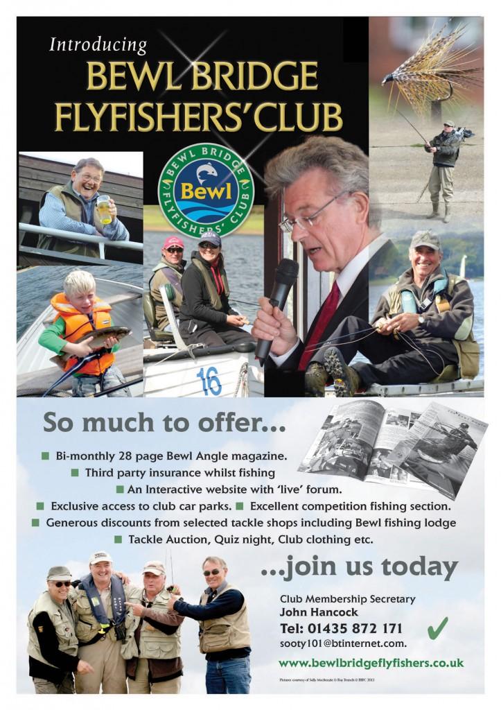 Kent Bewl Flyfishing Club Poster