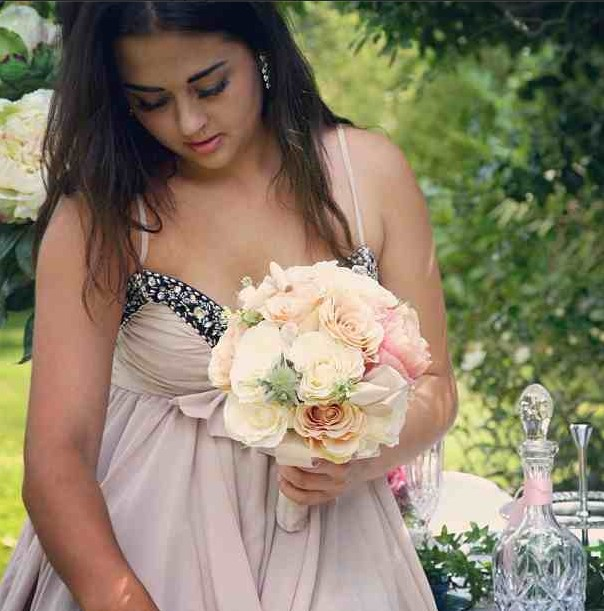 Birdsong and Blooms bride photo