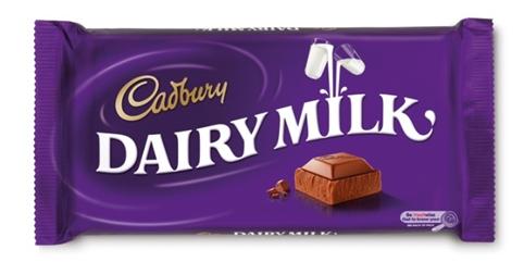 Cadbury Dairy Milk old packaging design