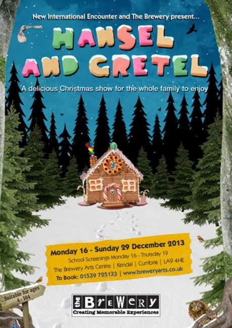 Hansel and Gretel panto poster