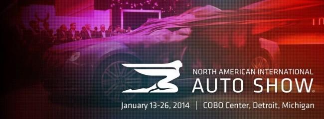 Detroit Auto Show 2014 banner
