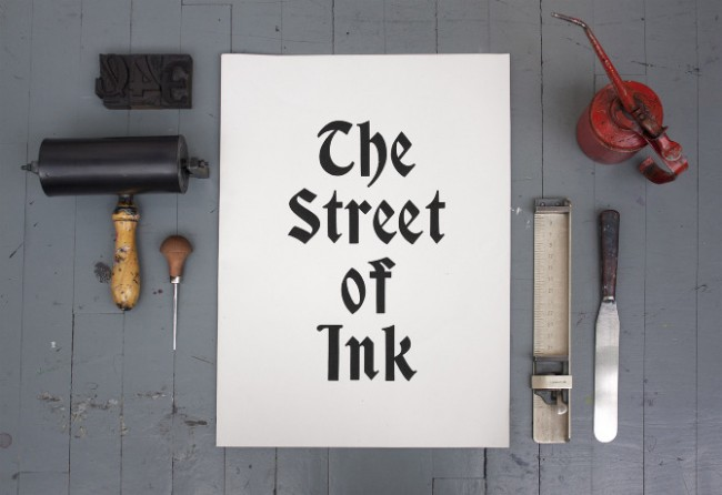 The Street of Ink