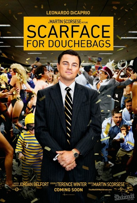 The Wolf of Wall Street alternative movie posters