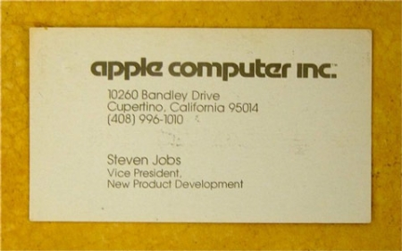 Apple Business Cards