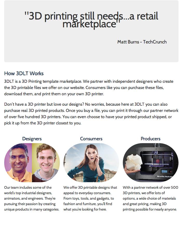 Amazon 3D printing marketplace