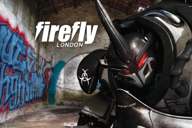 Firefly Animation London business cards front