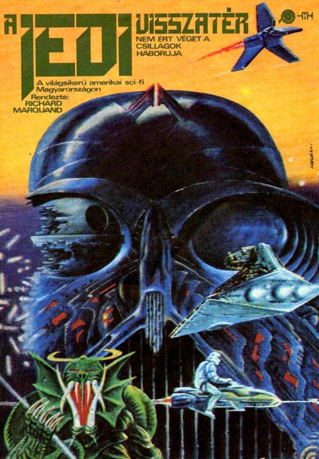 Return of the Jedi movie poster Hungary 1984