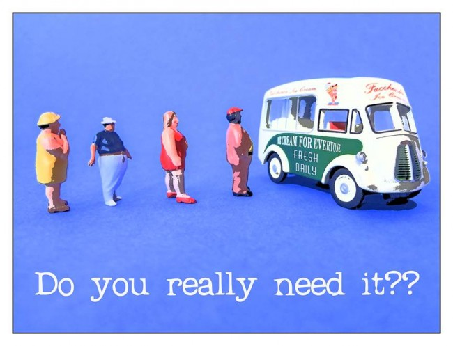 Fast Food Turf War ice-cream artwork