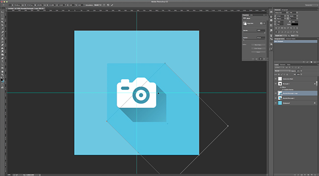 Flat Design Marquee Tool
