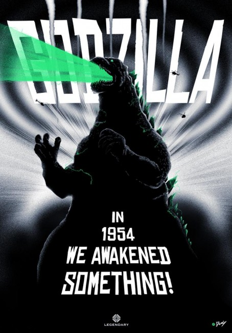 Godzilla poster by Doaly D