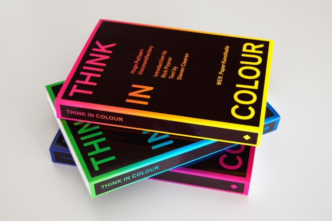 Covers of Think in Colour book