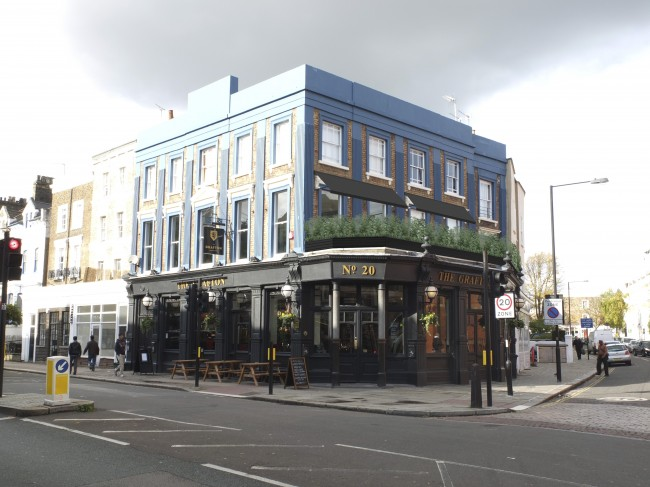 The Grafton pub in London NW5