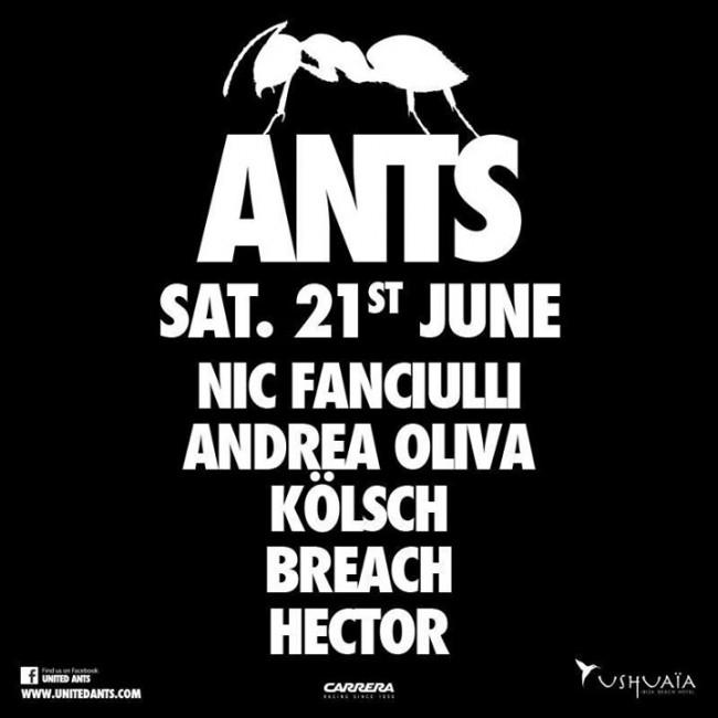 Ushuaia Ibiza Beach Hotel Ants flyer