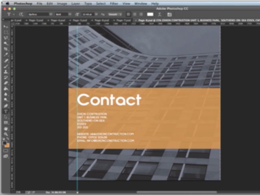 Designing A Brochure In Photoshop