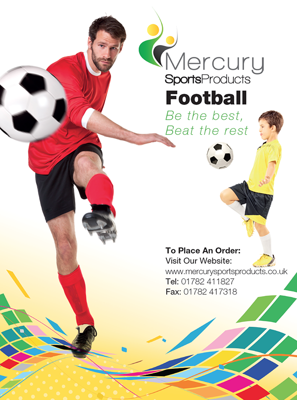 Mercury brochure front page - printed by Solopress