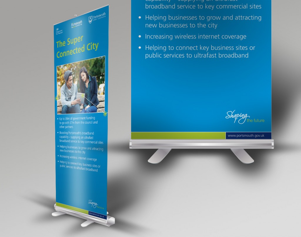 Solopress quick roll banner roller banners