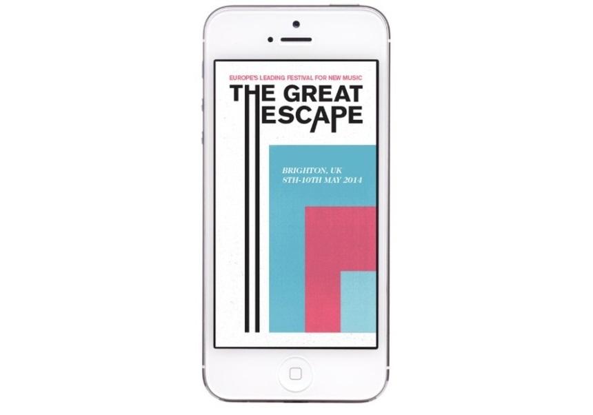 The Great Escape music festival app - rock star marketing