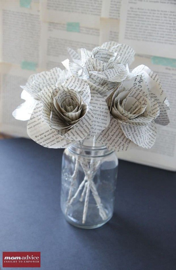 Create Your Own Paper Craft Wedding Decorations