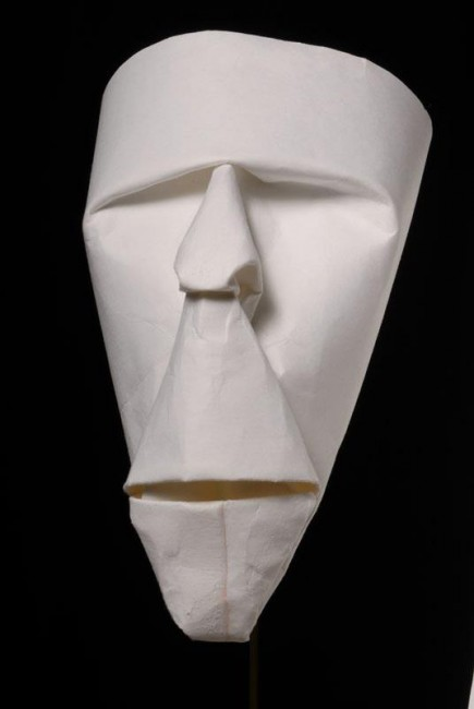 Paper mask photo 1