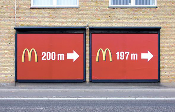Are we there yet? McDonalds adverts