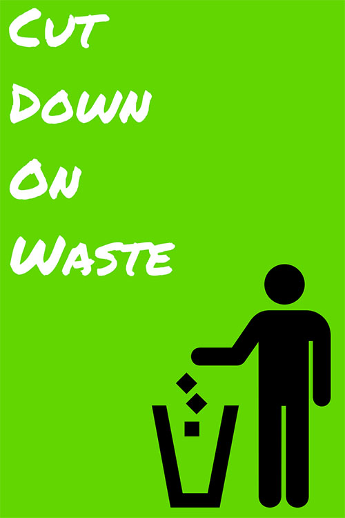 Cut down on waste in your design consultancy.