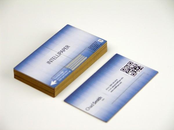 Intellipaper swivelCard smart business cards