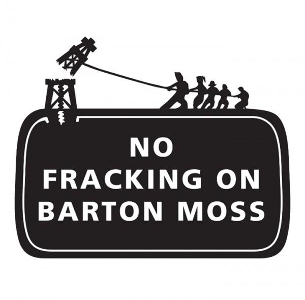 No fracking on Barton Moss poster