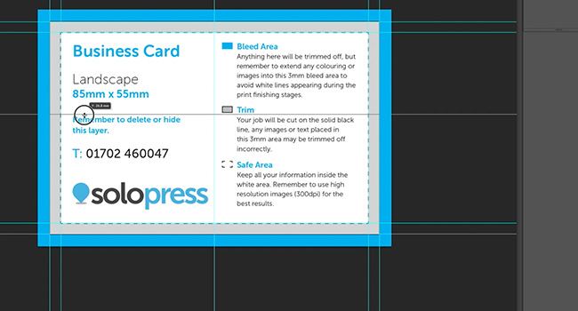 set the guidelines to design a hair salon appointment card